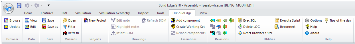 SolidEdge PDM: DBSolidEdge Image 0